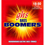 GHS P3045 Piccolo Extra Long Scale Bass Boomers Roundwound Electric Bass Strings (4-String Set, 18 - 50)