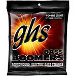 GHS L3045X Light Extra Long Scale Bass Boomers Roundwound Electric Bass Strings (4-String Set, 40 - 95)