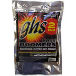 GHS M30452 PACK Medium Bass Boomers Roundwound Electric Bass Strings (4-String Set, Long Scale, 45 - 105, 2-Pack)