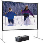 Da-Lite 95691KHD Fast-Fold Deluxe Portable Projection Screen (9 x 9')