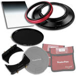 "FotodioX WonderPana FreeArc Core Unit Kit for Olympus 7-14mm Lens with 145mm Solid Neutral Density 1.2 and 6.6 x 8.5"" Hard-Edge Graduated Neutral Density 0.9 Filters"