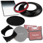 "FotodioX WonderPana FreeArc Core Unit Kit for Canon 14mm Lens with 145mm Solid Neutral Density 1.2 and 6.6 x 8.5"" Soft-Edge Graduated Neutral Density 0.9 Filters"