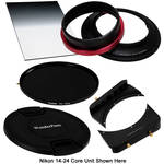 "FotodioX WonderPana FreeArc Core Unit Kit for Nikon 14-24mm Lens with 145mm Solid Neutral Density 1.2 and 6.6 x 8.5"" Soft-Edge Graduated Neutral Density 0.9 Filters"
