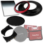 "FotodioX WonderPana FreeArc Core Unit Kit for Sigma 14mm Lens with 145mm Solid Neutral Density 1.2 and 6.6 x 8.5"" Soft-Edge Graduated Neutral Density 0.9 Filters"