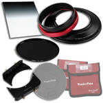 "FotodioX WonderPana FreeArc Core Unit Kit for Tokina 16-28mm Lens with 145mm Solid Neutral Density 1.2 and 6.6 x 8.5"" Soft-Edge Graduated Neutral Density 0.9 Filters"