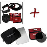 "FotodioX WonderPana FreeArc Core Unit Kit for Olympus M.Zuiko 7-14mm PRO Lens with 145mm Solid Neutral Density 1.2 and 6.6 x 8.5"" Hard-Edge Graduated Neutral Density 0.6 Filters"