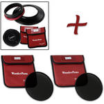 FotodioX WonderPana FreeArc XL Core Unit Kit for Canon 11-24mm Lens with 186mm Slim, Solid Neutral Density 1.2 and 1.5 Filters