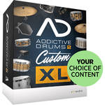 XLN Audio Addictive Drums 2: Custom XL with Choice of Content (Download)