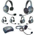 Eartec HUB733MON UltraLITE 7-Person HUB Intercom System with Monarch Headset (USA)