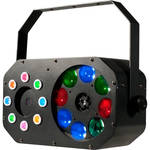 American DJ Stinger Gobo - LED Moonflower, Color Wash and Red/Green Lasers