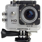 Delvcam 1080P Action Sports POV Camera with Wi-Fi and Accessories