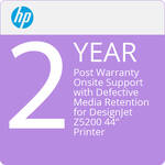 "HP 2-Year Post Warranty Onsite Support with Defective Media Retention for DesignJet Z5200 44"" Printer"