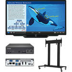 "Sharp PN-L803C 80"" Class AQUOS BOARD Interactive Display System with PC & Floor Stand"