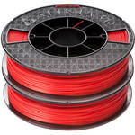 Afinia 1.75mm ABS Premium Filament 2-Pack for H-Series 3D Printers (2 x 500g, Red)