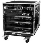 Marathon Flight Road 10U Deluxe Amplifier Rack Case with Wheels