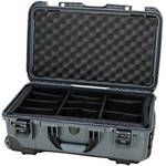 Nanuk Protective 935 Case with Padded Dividers & Padlock (Graphite)