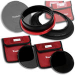 FotodioX WonderPana 145 Core Unit Kit for Nikon 14-24mm Lens with 145mm Solid Neutral Density 1.2 and 145mm Solid Neutral Density 1.5 Filters