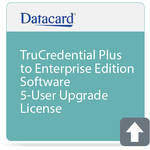 DATACARD TruCredential Plus to Enterprise Edition Software 5-User Upgrade License