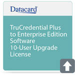 DATACARD TruCredential Plus to Enterprise Edition Software 10-User Upgrade License