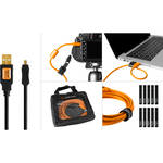 Tether Tools Starter Tethering Kit with USB 2.0 Mini-B 8-Pin Cable (Black)