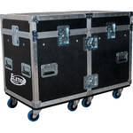 Elation Professional Dual Touring Road Case for Two Satura Profile Moving Heads