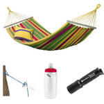 Byer of Maine Aruba Hammock with Water Bottle & Flashlight Kit (Vanilla Yellow)