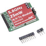 ImmersionRC 5.8 GHz 15-Channel A/V Transmitter with RaceBand 25mW for Vortex Quadcopter