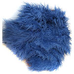 "Custom Photo Props Faux Flokati Fur Newborn Photo Prop (Blueberry, 62 x 72"")"
