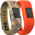 Garmin vivofit 3 Bands Two-Pack (Camo/Blaze Orange, Regular)