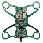 HUBSAN 2.4 & 5.8 GHz 2-in-1 PCBA for H111D Nano FPV Quadcopter