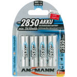 Ansmann Mignon AA Type 2850mAh Rechargeable NiMH Battery (4-Pack)