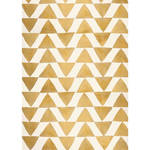 PepperLu PolyPaper Photo Backdrop (5 x 7', Golden Triangles Pattern)
