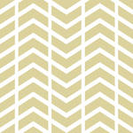PepperLu PolyPaper Photo Backdrop (5 x 6', Split Chevron Pattern, Sand)