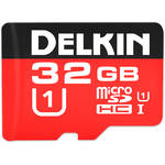 Delkin Devices 32GB 500x microSDHC UHS-I Memory Card