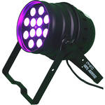 DeeJay LED 125W LED Par Can Fixture with DMX Control (Black)