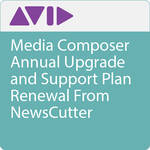 Avid Technologies Media Composer Annual Upgrade and Support Plan Renewal From NewsCutter