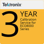 Tektronix ECO8000C3 3-Year Calibration Service for ECO8000 Series