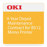 OKI 4-Year Depot Maintenance Contract for B512 Mono Printer