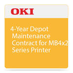 OKI 4-Year Depot Warranty Extension Program for MB4x2 Series Printers