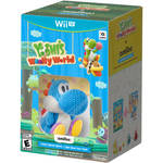 Nintendo Yoshi's Woolly World with Blue Yarn Yoshi amiibo Bundle (Wii U)