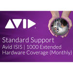 Avid Technologies Extended Hardware Coverage Add-On for ISIS 1000 Software 20TB (Monthly)