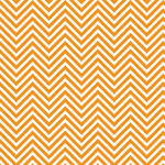 Westcott Classic Chevron Art Canvas Backdrop with Hook-and-Loop Attachment (3.5 x 3.5', Bold Orange)