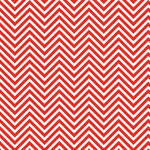 Westcott Classic Chevron Art Canvas Backdrop with Hook-and-Loop Attachment (3.5 x 3.5', Bold Red)
