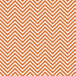 Westcott Classic Chevron Art Canvas Backdrop with Hook-and-Loop Attachment (3.5 x 3.5', Rich Orange)