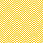 Westcott Classic Chevron Art Canvas Backdrop with Hook-and-Loop Attachment (3.5 x 3.5', Rich Yellow)