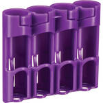 STORACELL Battery Caddy for 18650 Batteries (Purple)