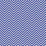 Westcott Classic Chevron Matte Vinyl Backdrop with Hook-and-Loop Attachment (3.5 x 3.5', Rich Blue)
