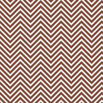 Westcott Classic Chevron Matte Vinyl Backdrop with Hook-and-Loop Attachment (3.5 x 3.5', Rich Brown)
