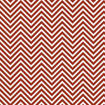 Westcott Classic Chevron Matte Vinyl Backdrop with Hook-and-Loop Attachment (3.5 x 3.5', Rich Red)
