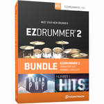 Toontrack EZdrummer 2 Modern Pop Edition - Virtual Drum Module with Sound Libraries Bundle (Download)